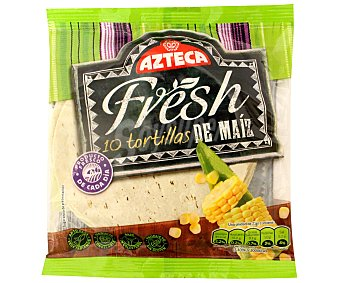 Azteca Foods Tortilla de maiz refrigerada 210 g