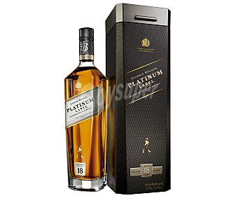 Johnnie Walker Whisky Platinum label 18 años 70 cl