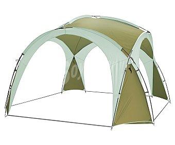 GARDEN STAR Cenador tipo igloo, fabricado con estructura tubular flexible de fibra de vidrio y cubierta de poliester de 190T, medidas: 3.65x3.65x2.27 metros 1 unidad
