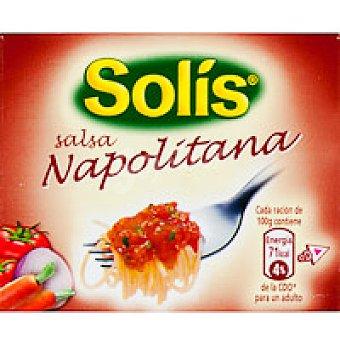 Solís Salsa napolitana Brik 220 g