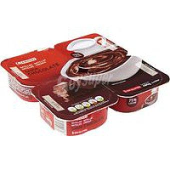 Eroski Natilla de chocolate 4 unidades de 120 g