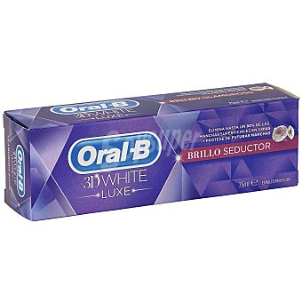 Oral -B Dentífrico 3D white brillo seductor tubo 75 ml Tubo 75 ml