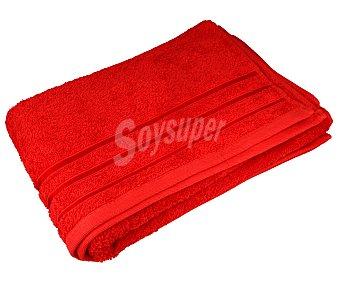 Actuel Toalla 100% algodón color rojo para ducha, densidad de 480 gramos/metro² 1 unidad