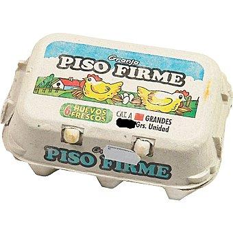 PISO FIRME Huevos clase XL Envase 6 unidades