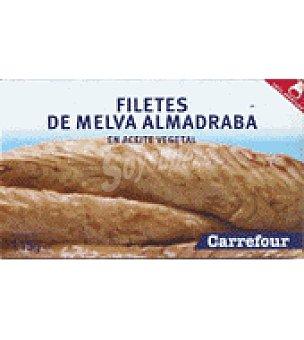 Carrefour Filetes de melva almadraba en aceite vegetal 115 g