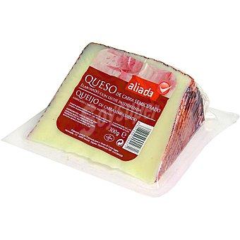Aliada Queso semicurado de cabra con leche pasteurizada cuña 300 g 300 g