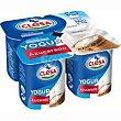 Yogur natural azucarado Pack 4x125gr CLESA