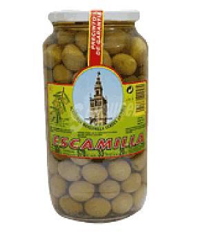 Escamilla Aceituna manzanilla lisa verde 570 g