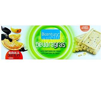 Bicentury Galletas sabor chocolate y naranja Devoragras 169 g