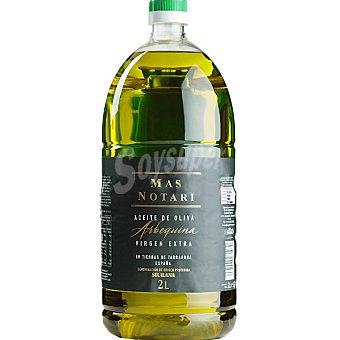 MAS NOTARI Aceite de oliva virgen extra Arbequina D.O. Siurana botella 2 l 2 l