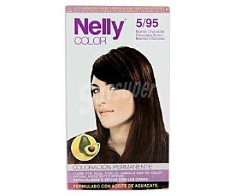 NELLY Color Tinte Marrón Chocolate 5/95 1 Unidad