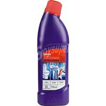 Eroski Limpiador baño wc extra poder Botella 750 ml