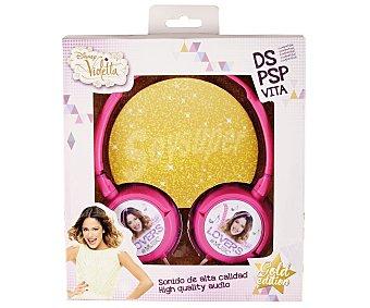 DISNEY Auriculares diseño Violetta compatibles con Nindendo Ds/3Ds/3DsXL y Psp/PsVita 1 Unidad