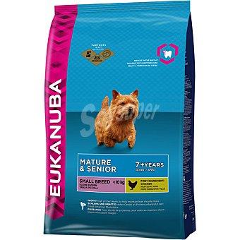 EUKANUBA MATURE & SENIOR Alimento completo para perros adultos de raza pequeña de + 7 años bolsa 2 kg Bolsa 2 kg