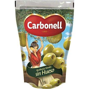 Carbonell Aceitunas verdes manzanilla deshuesadas Bolsa 70 g