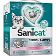 Strong clumps arena para gatos ultra aglomerante Caja 6 kg SaniCat