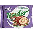 Pastelitos de chocolate con avellana Pack 3 unds. 37 g MILKA Tender