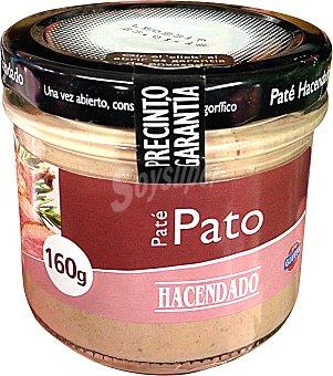 HACENDADO Paté de pato Tarro de 160 g