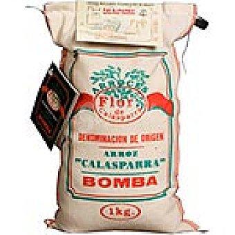 Flor de calasparra Arroz bomba D.O. Calasparra Saco 1 kg