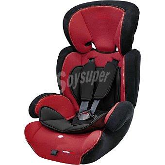 BQS Silla de auto en color negro y rojo grupo 1 - 2 - 3