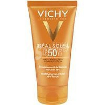 Vichy Ideal Soleil Emulsión acabado seco IP50 Bote 50 ml