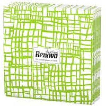 Renova Servilletas abstrac verde Paquete 20 unid