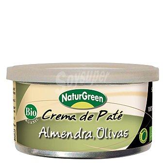 Naturgreen Crema pate almendras olivas - Sin Gluten 130 g