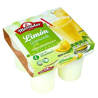 Mercader Granizado de limón sin azucar 4 x 190 ml