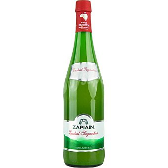 Zapiain Sidra natural premium DO Euskal Sagardoa Botella 75 cl