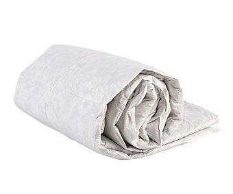 Auchan Relleno nórdico de pluma de pato, 90 centímetros, color blanco, densidad: 375 gramos/m² 1 Unidad