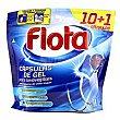 Detergente lavavajilla gel 10 + 1dosis Flota