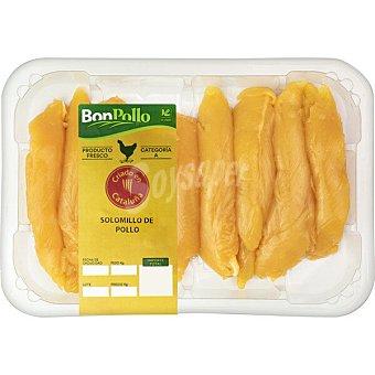 Bonpollo Pollo Amarillo solomillo peso aproximado Bandeja 350 g
