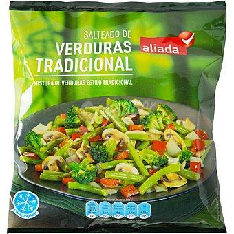 Aliada Salteado de verduras tradicional bolsa 400 g Bolsa 400 g