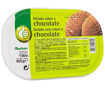 Productos Económicos Alcampo Tarrina de helado de chocolate 1 l