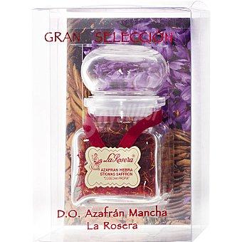 LA ROSERA Azafrán puro en hebras D.O. Mancha Frasco 5 g