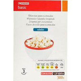 Eroski Basic Palomitas para microondas Pack 3x100 g