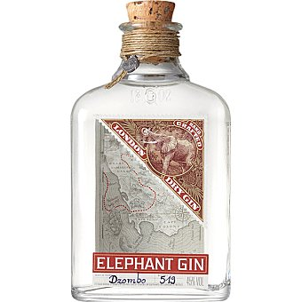 Elephant Ginebra premium botella 50 cl Botella 50 cl