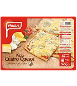 Findus Pizza cuatro quesos 560 g
