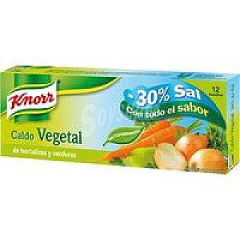 Knorr Caldo suave de verduras Caja 120 g