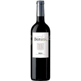 BERARTE Vino tinto crianza D.O. Rioja botella 75 cl 75 cl