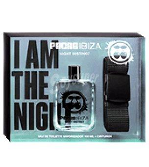 Pachá Ibiza Estuche colonia Night Instinct vaporizador 100 ml. + Cinturón 1 ud