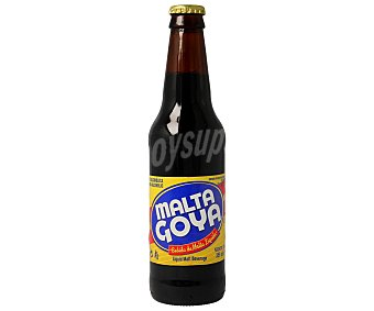 Goya Malta líquida sin alcohol malta Botella de 33 centilitros
