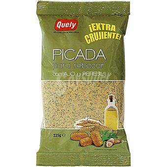 Quely Picada pan rallado para rebozar con ajo y perejil bolsa 225 g Bolsa 225 g