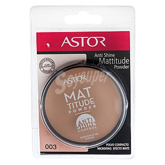 Astor Polvos compactos antishine Mattitude powder nº 003 1 ud