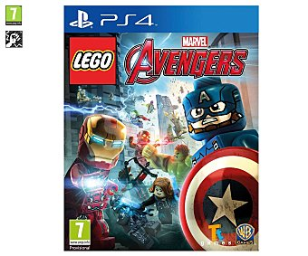 TT GAMES Lego Vengadores Ps4 Videojuego Lego Marvel Vengadores, Avengers, para playstation 4. Género: aventura, acción. pegi: +7