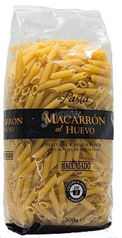Hacendado Macarron al huevo pasta Paquete 500 g