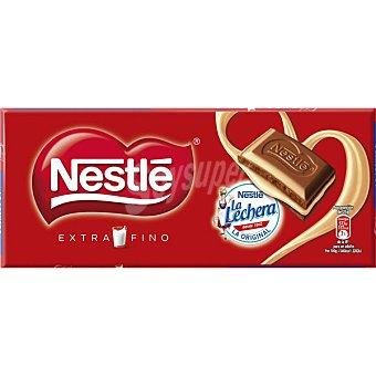 Extrafino Nestlé Chocolate con leche relleno de crema de leche Tableta 120 g
