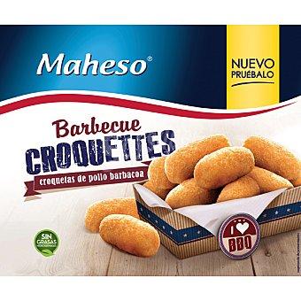 MAHESO croquetas de pollo barbacoa  bolsa 300 g