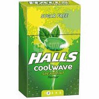 Halls Coolwave sabor menta 1 unid