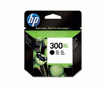 HP Cartuchos de Tinta 300XL Negro HP (CC641E) 1 Unidad - Compatible con las Impresoras: HP Deskjet D1660 / D2560 / D2660 / D5560 / F2420 / F2480 / F2492 / F4210 / F4224 / F4272 / F4280 / F4580 / 1 Unidad